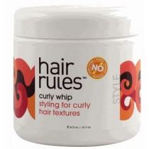Hair Rules Curly Whip 473 ml/16 oz