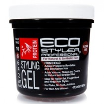 EcoStyler Protein Styling Gel 473 ml/16 oz & 946 ml/32 oz