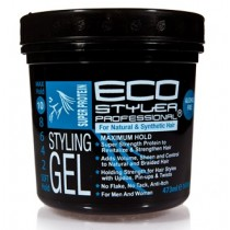 EcoStyler Super Protein Styling Gel 473 ml/16 oz & 946 ml/32 oz
